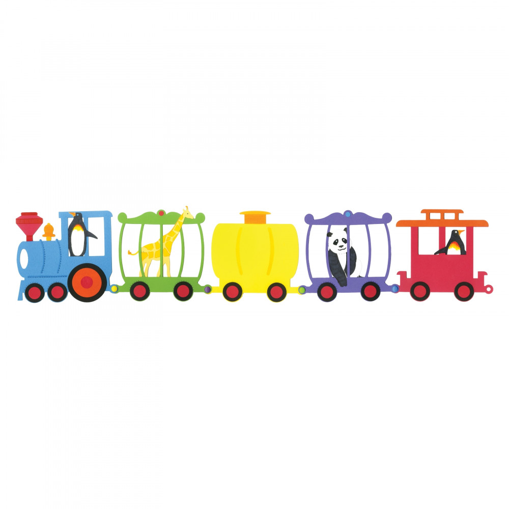 sizzix bigz die set trains Large
