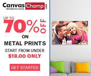 CanvasChamp Metal Prints