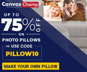 CanvasChamp Photo Pillow